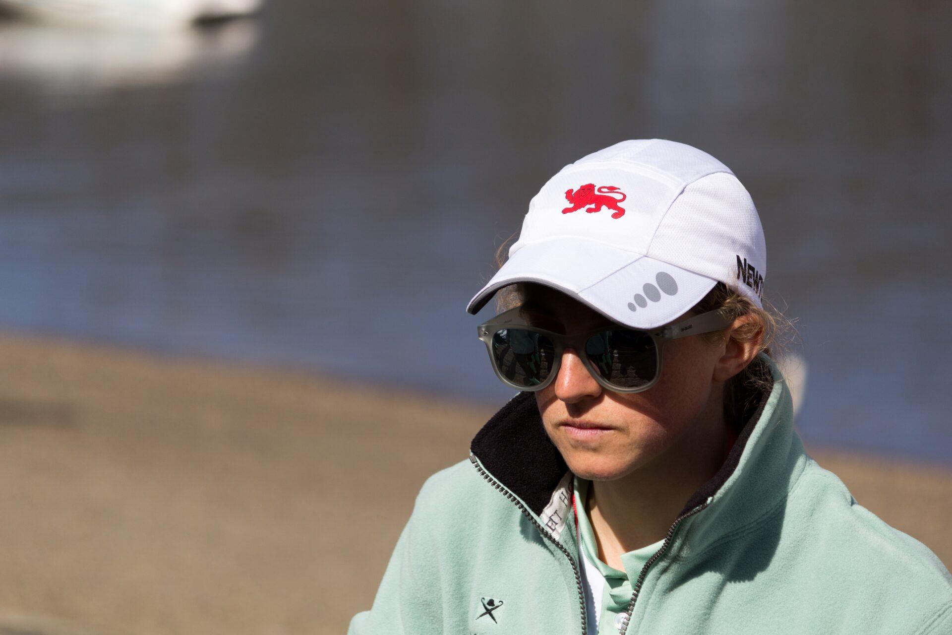 Rosemary Ostfeld at the 2015 Boat Race